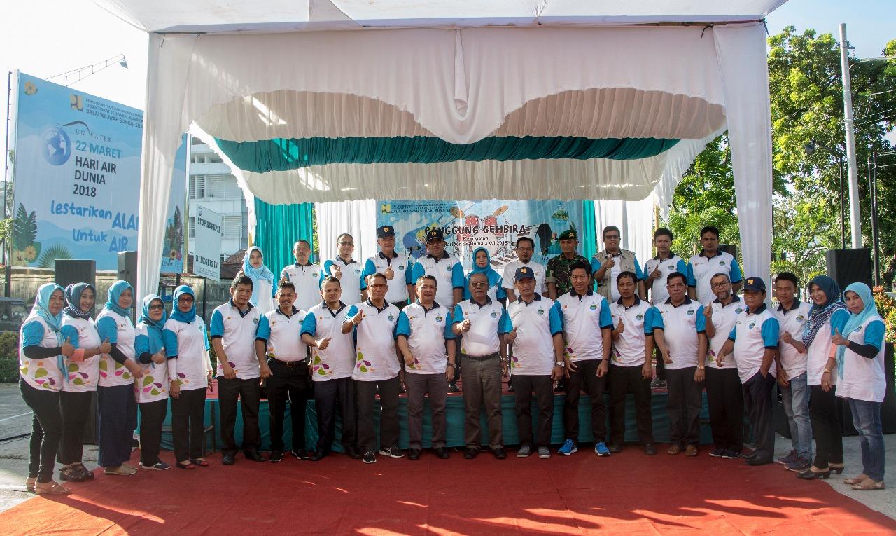 Meriahkan Hari Air Dunia BWS SUMATERA V RAYAKAN PUNCAK HAD XXVI 2018