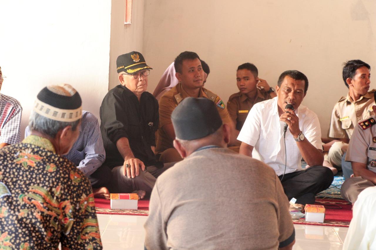 Irigasi dan Rawa II Gelar Sosialisasi Pengadaan Tanah Beri Pengertian Pada Masyarakat