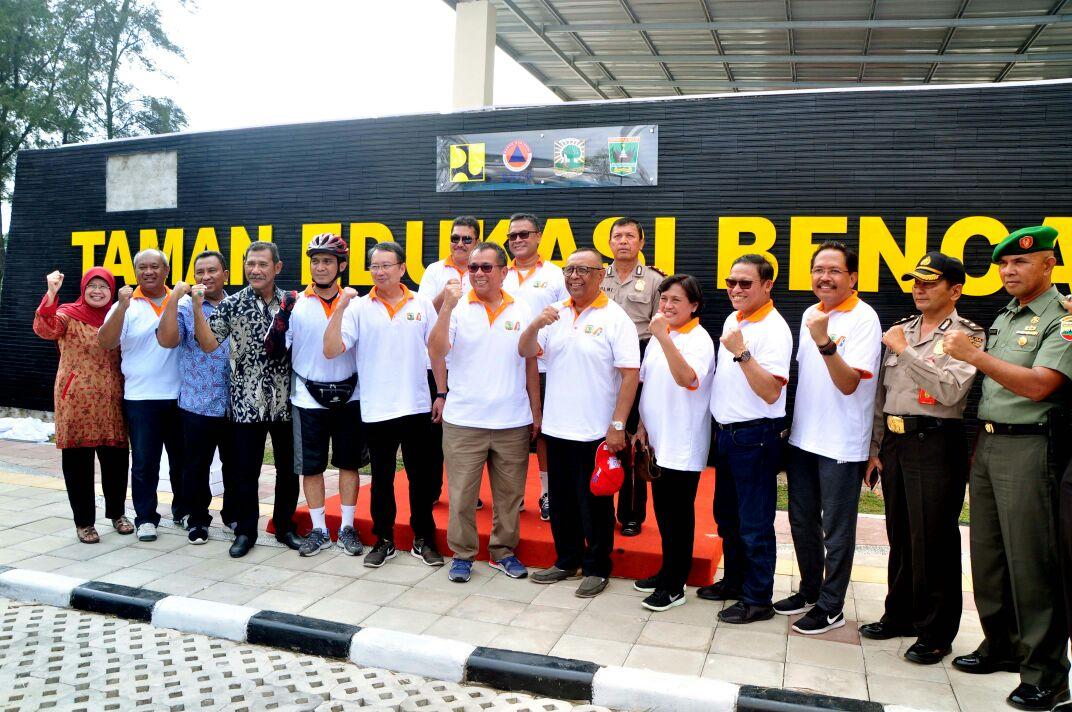 BWS Sumatera V Bersama Unand-BNPB-Pemprov Dan Pemkot, Bangun Taman Edukasi Bencana Pertama Di Indonesia