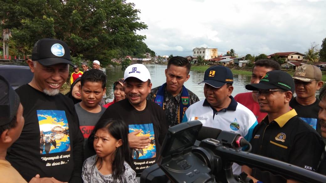 Bersih Sungai Batang Arau Bersama Masyarakat Kota Padang