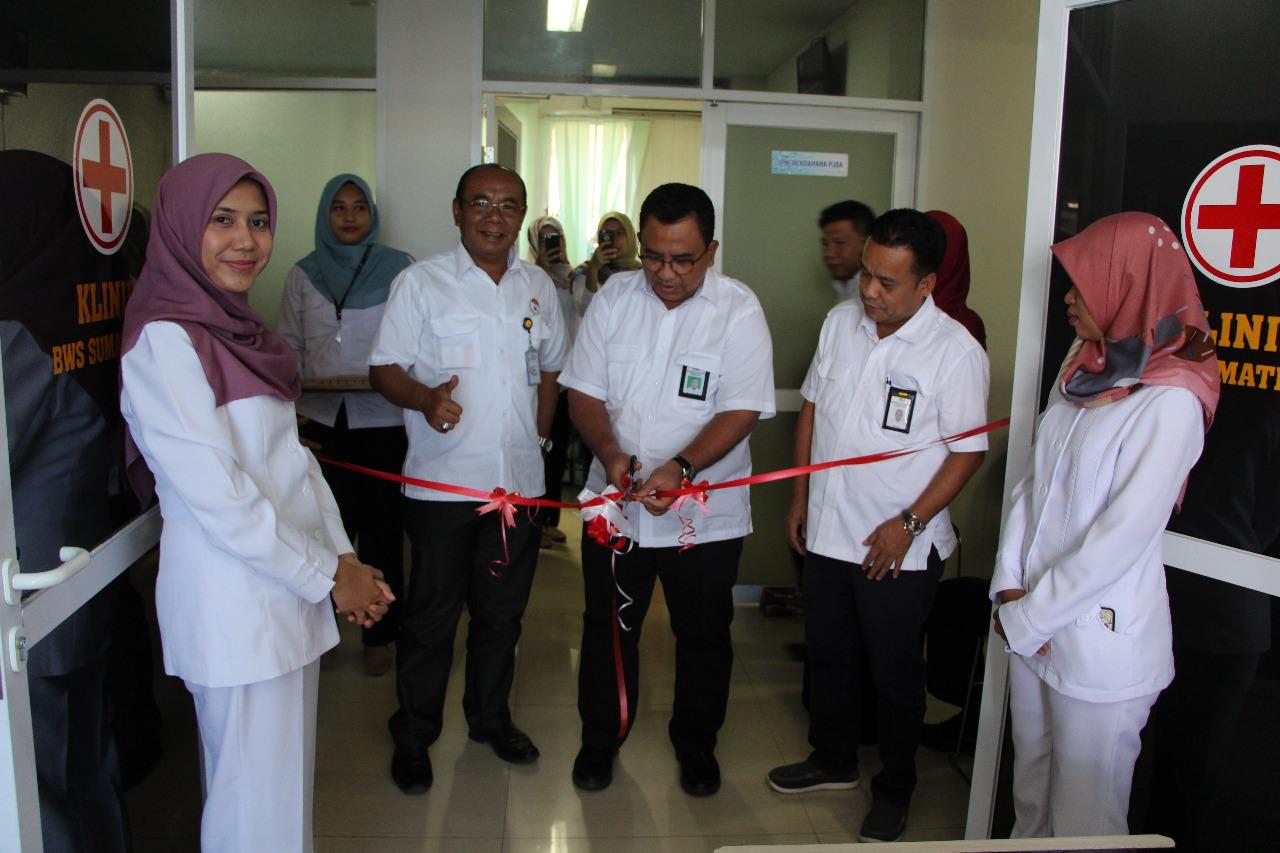 Klinik BWS Sumatera V Diresmikan