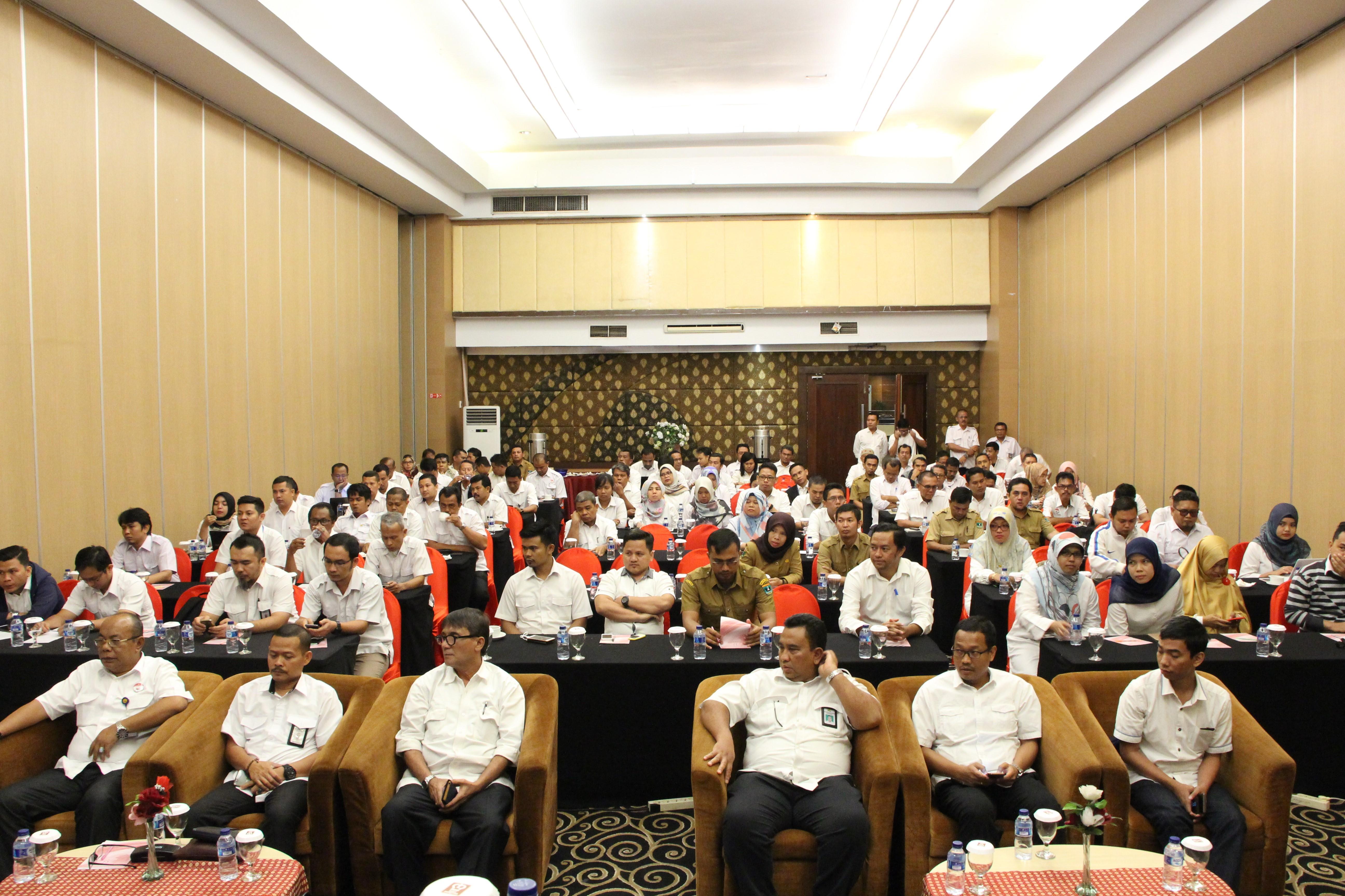 ULP Prov Sumbar Adakan Sosialisasi Regulasi Penerapan Aplikasi SPSE 4.3 Dan SIPBJ Terintegrasi