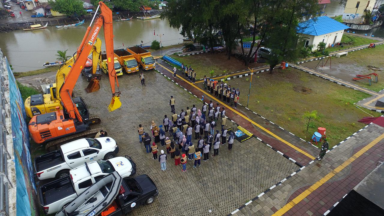 Apel Kesiapsiagaan Bencana dan Walkthrough Sungai BWS Sumatera V
