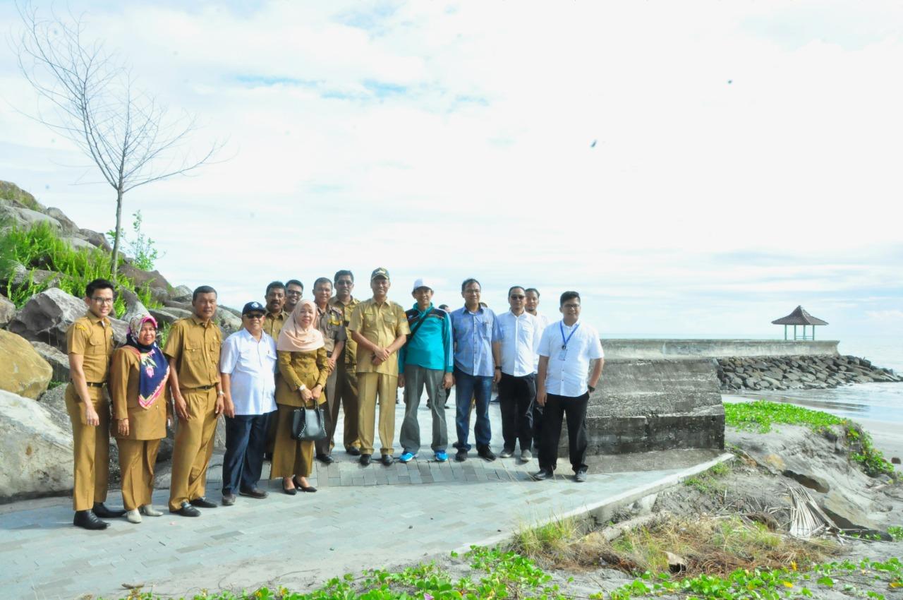 Pemko Pariaman dan BWS Sumatera V Akan Wujudkan Waterfront City Di Tiga Titik