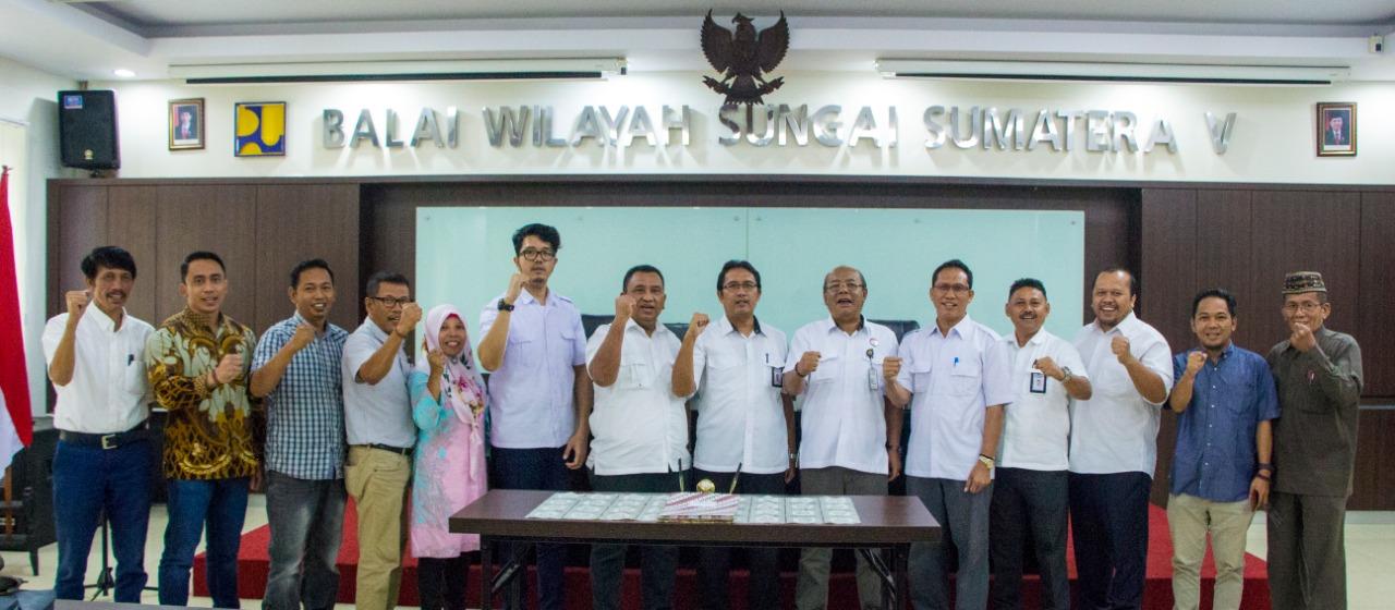 Tujuh Paket Kontraktual di Lingkungan Kerja PJPA IAKR di Tanda Tangani
