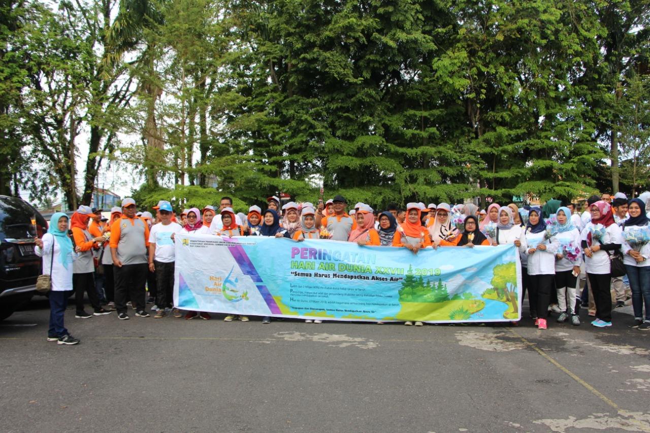 """Rayakan Hari Air Dunia Ke XXVII, BWS Sumatera V:""""Jangan Wariskan Air Mata Untuk Anak Cucu kita, Wariskan Air Untuk Mereka"""""""