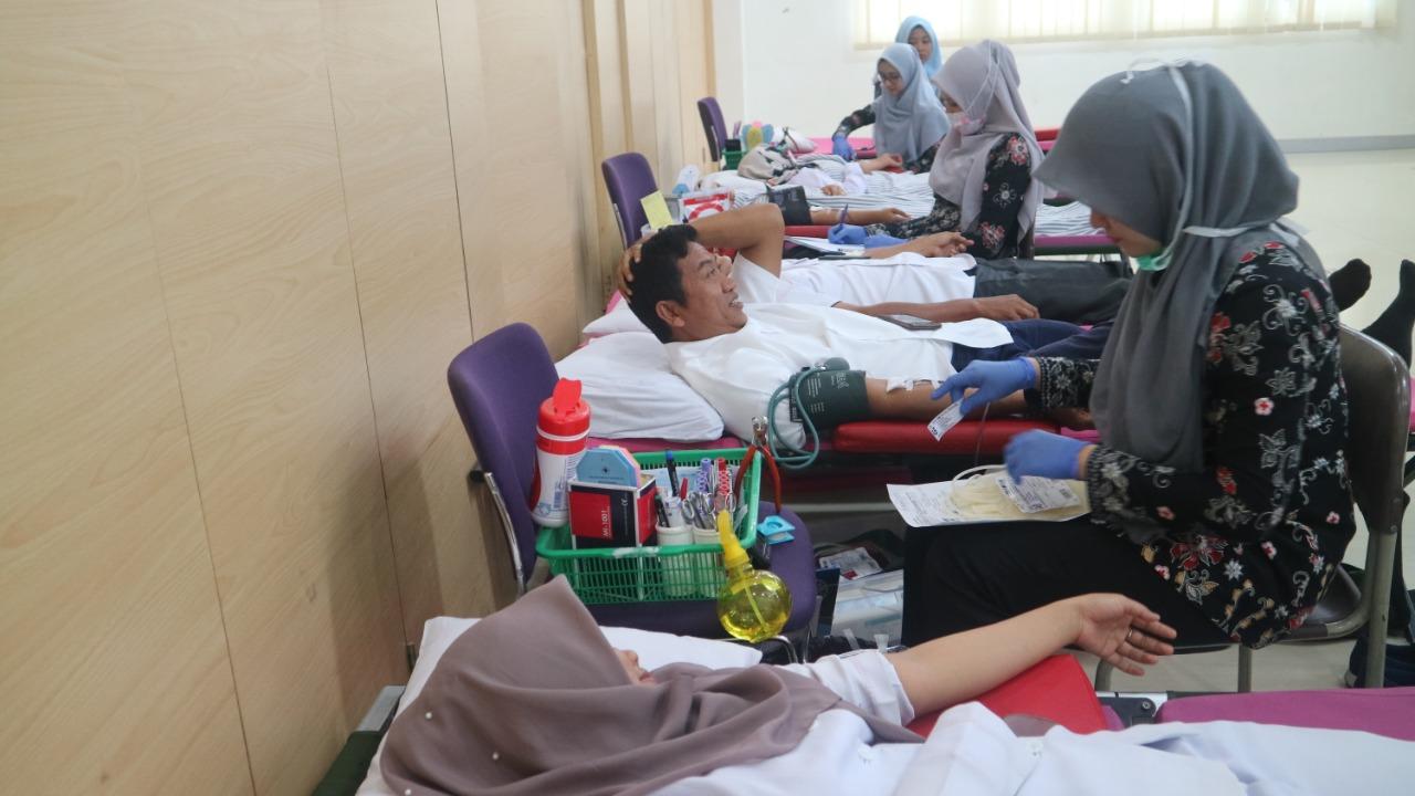 Donor Darah Sebagai Bentuk Solidaritas BWS Sumatera V Untuk Sesama
