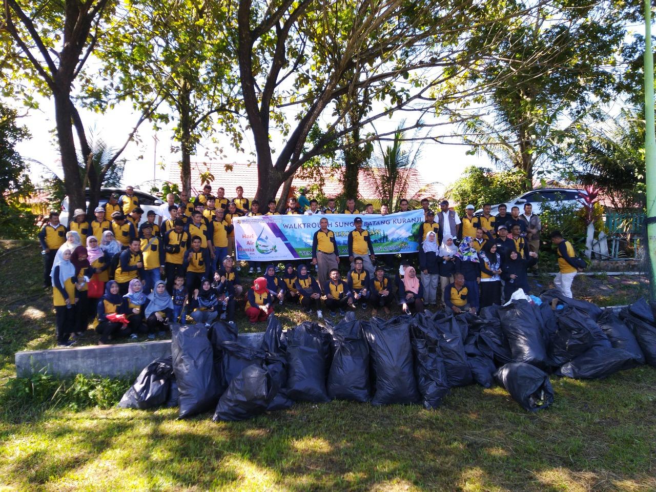 Walkthrough Sungai Batang Kuranji Untuk Inventarisir Kerusakan dan Upaya Antisipasi Banjir