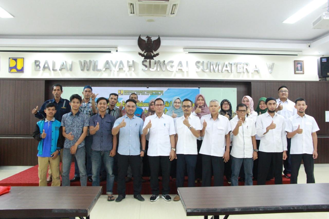 Monitoring dan Evaluasi Pelaksanaan Alokasi Air DAS di Kota Padang (Batang Kuranji, Batang Arau, dan Batang Air Dingin)