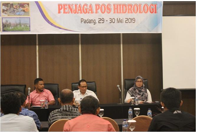 Pelatihan Pos Penjaga Hidrologi di Lingkungan BWS Sumatera V