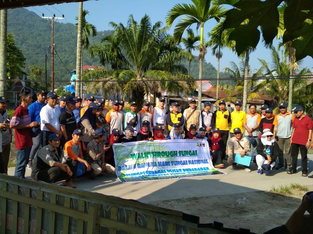 Susuri Batang Jirak, BWS S V Ramaikan Peringatan Hari Sungai Nasional