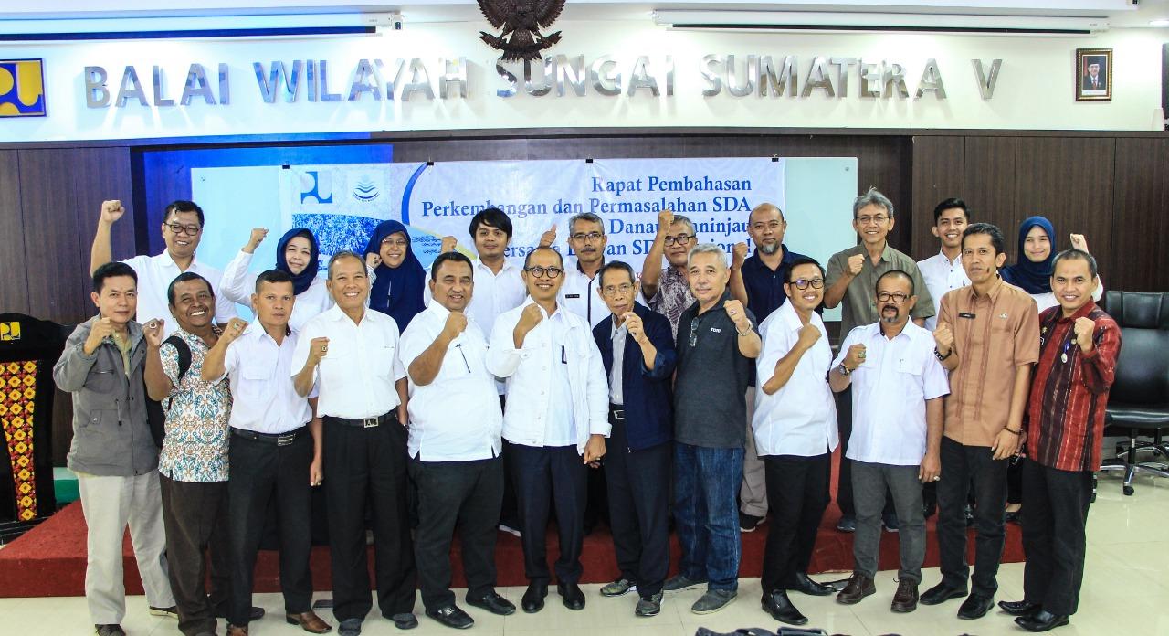 BWS Sumatera V bersama Dewan SDA Nasional  terus upayakan berantas penyakit yang Gerogoti Danau Maninjau