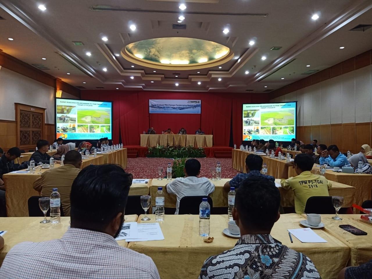 Rapat Evaluasi Pelaksanaan P3-TGAI Tahap II TA 2019