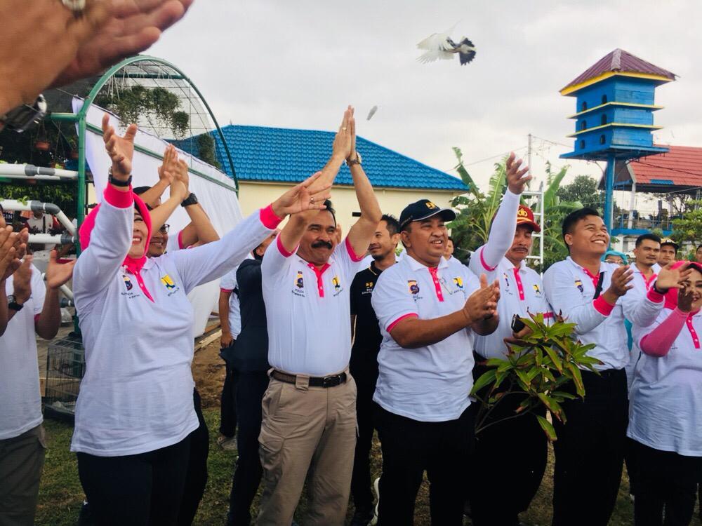 BWS Sumatera V dan Polda Sumbar Pererat Silaturrahmi Melalui Festival Danau Cimpago 2019