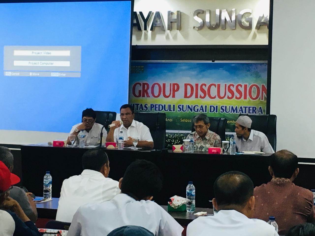 FGD Komunitas Peduli Sungai BWS Sumatera V Untuk Pelestarian Sungai di Sumatera Barat