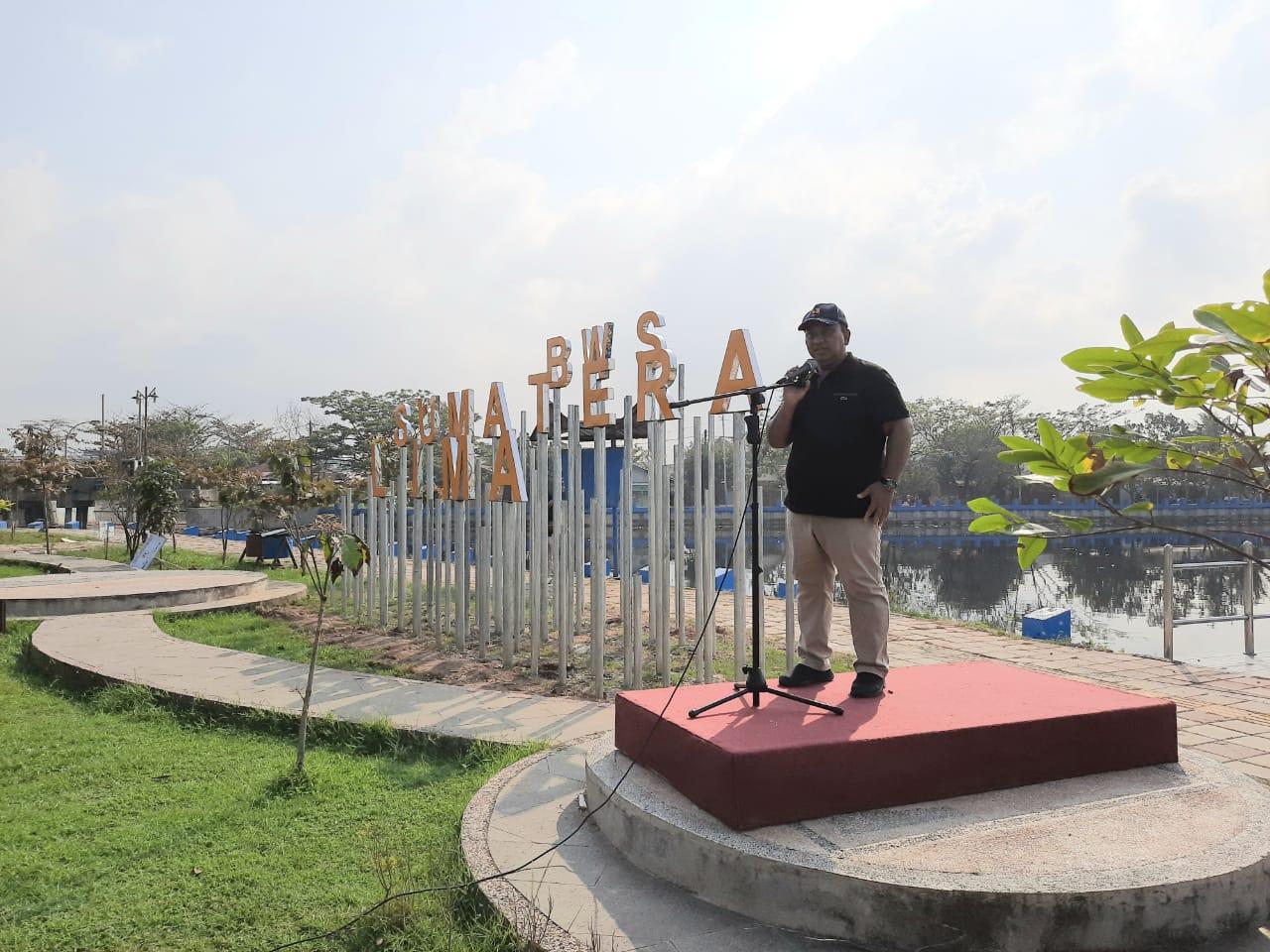 Peresmian Pasar Seni Tradisional Kawasan Danau Cimpago Wujud Keseriusan BWS Sumatera V dalam Penataan Kawasan Wisata