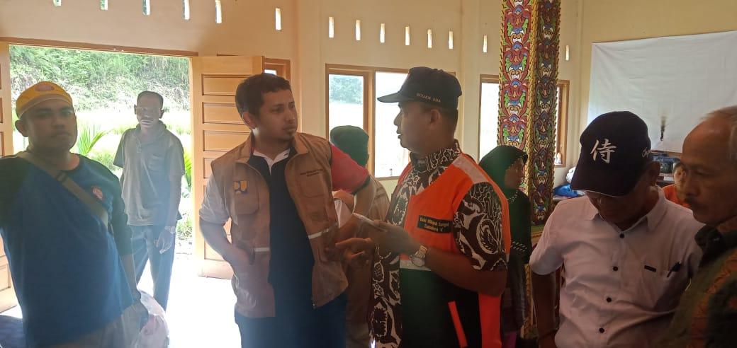Kunjungan Wagub,  BWS Sumatera V dan Rombongan ke titik Galodo Solok Selatan