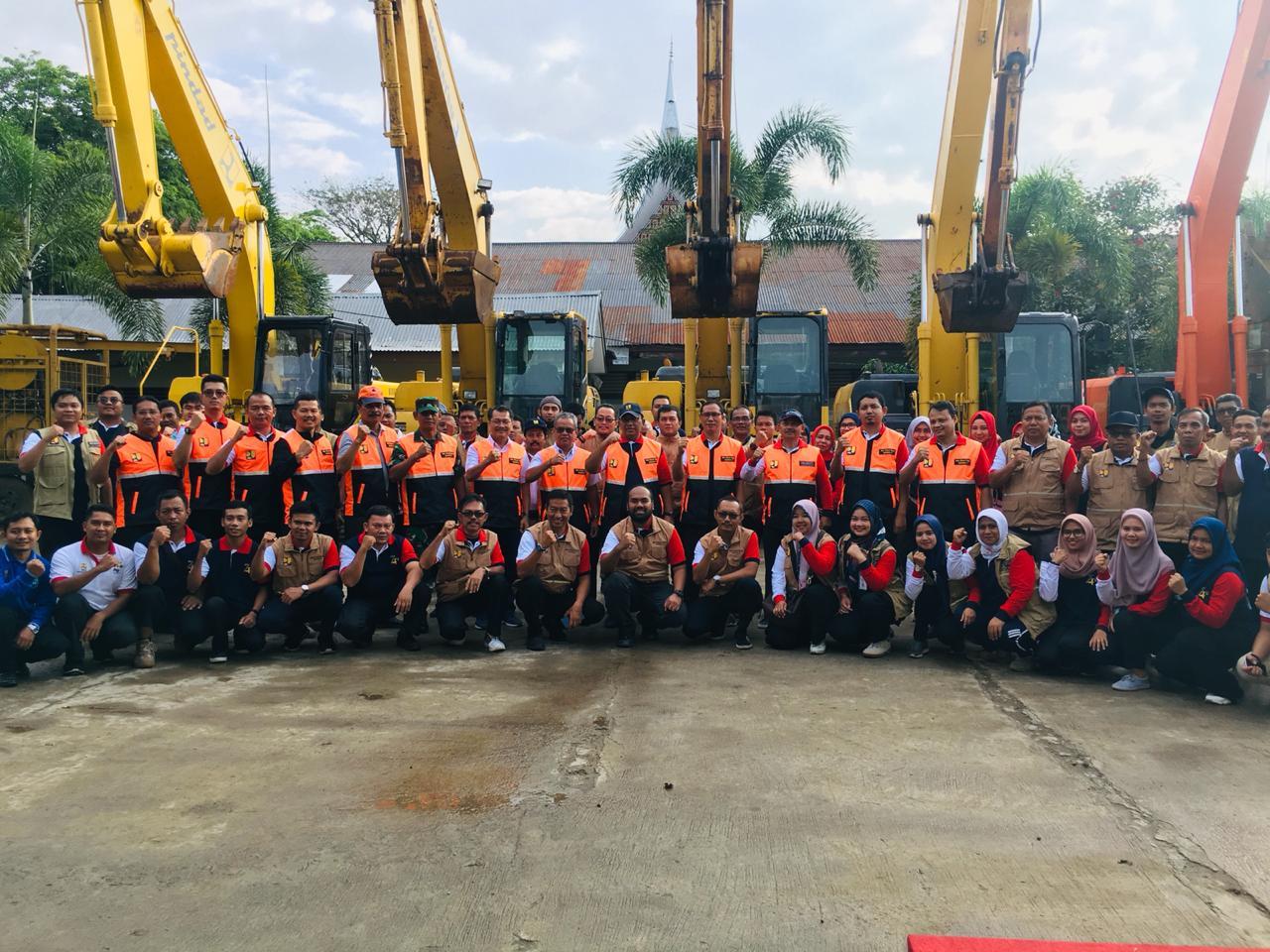 Apel Siaga Bencana BWS Sumatera V Tingkatkan Kewaspadaan Dan Kesiapan Hadapi Bencana