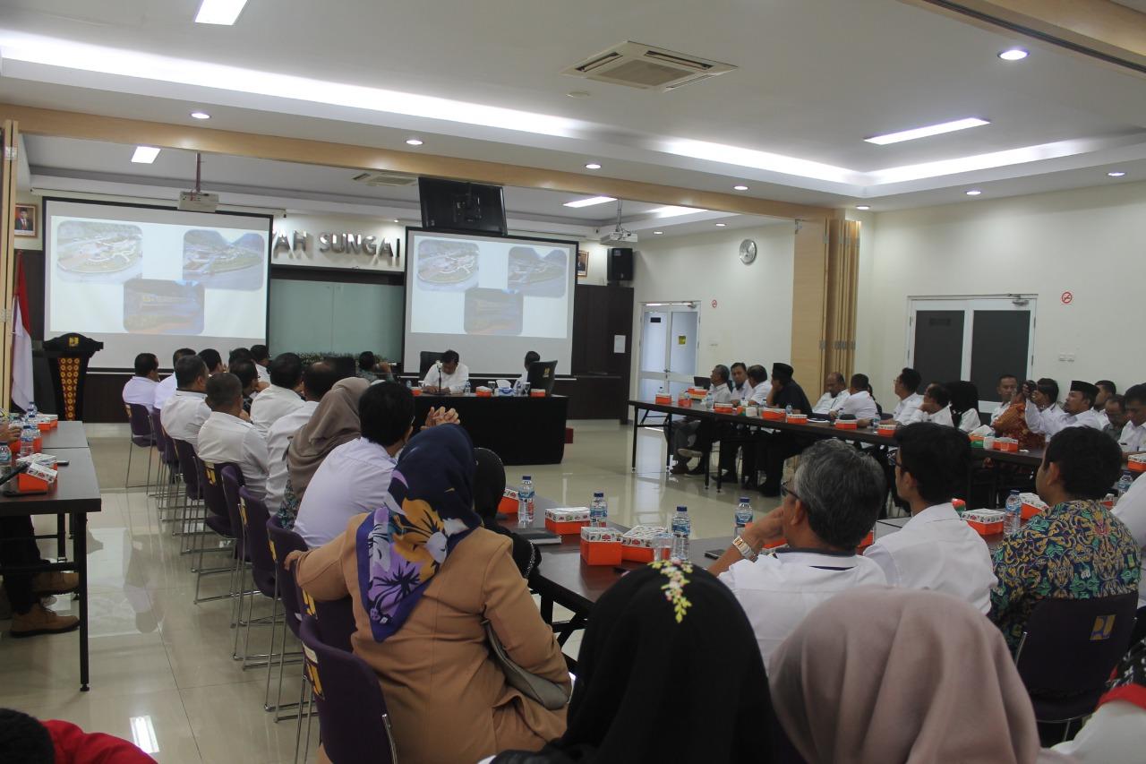 BWS Sumatera V Dukung Pariwisata Sumbar melalui Akses Wisata