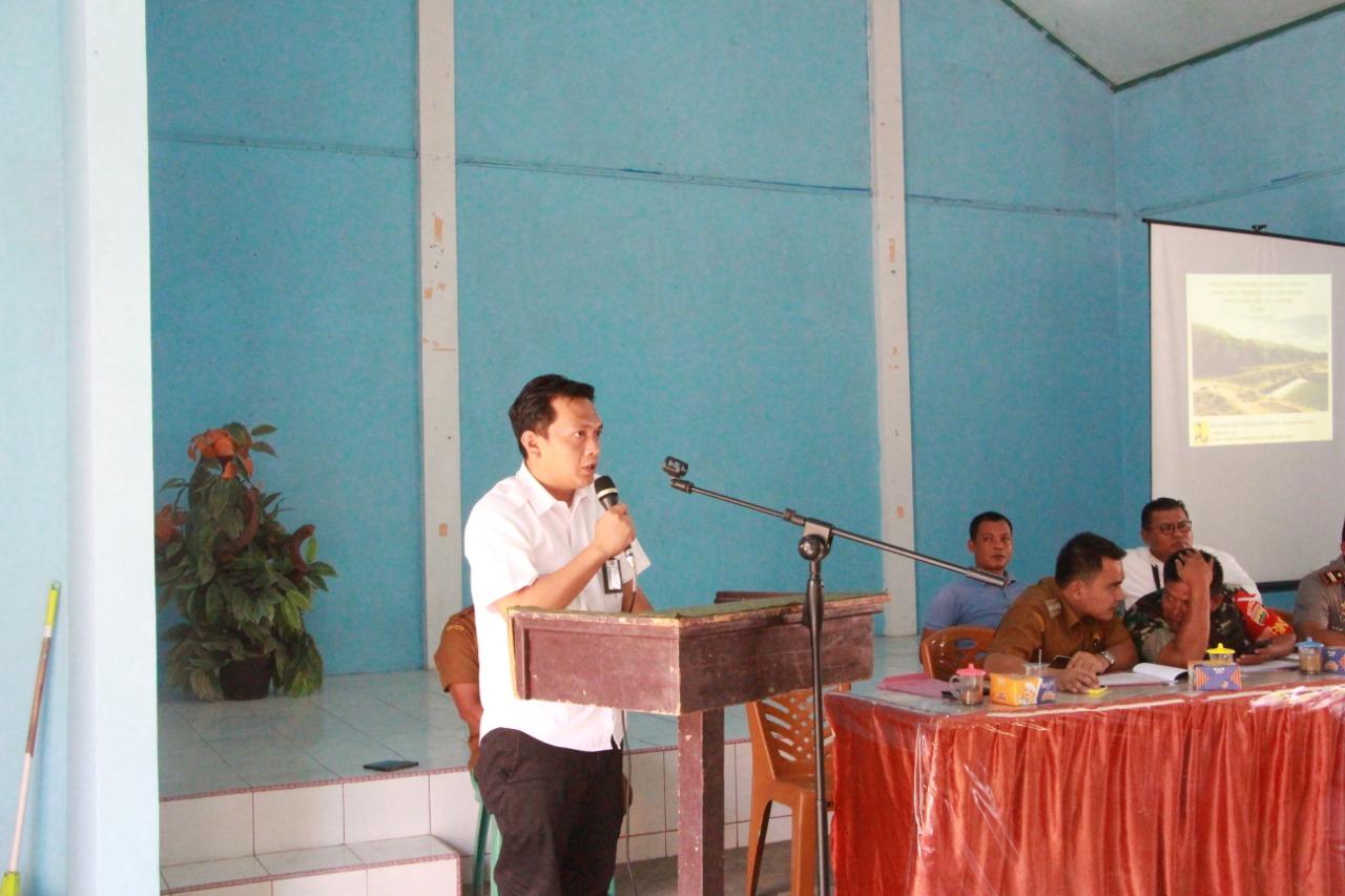Sosialisasi Pembangunan Jaringan DI. Kawasan Sawah Laweh Tarusan di Kabupaten Pesisir Selatan (Paket II dan Paket III ) - Lanjutan TA. 2020