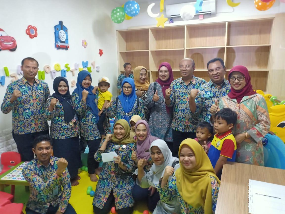 Ruang Laktasi dan Penitipan Anak BWS Sumatera V Diresmikan