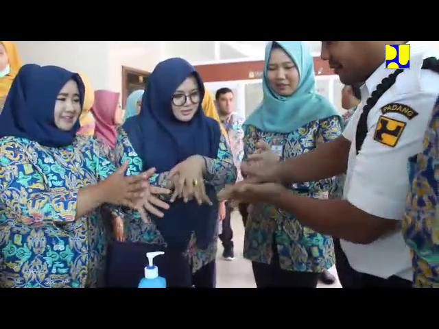 Cegah Virus Corona BWS Sumatera V Wajib Deteksi Suhu Tubuh Sebelum Masuk Kantor