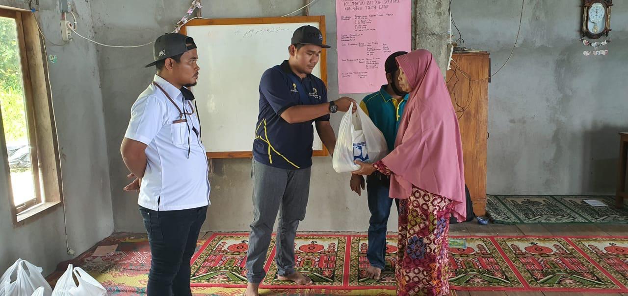Bantu Korban Longsor dan Banjir Bandang, BWS S V kirim Sembako ke Malalo Kabupaten Tanah Datar