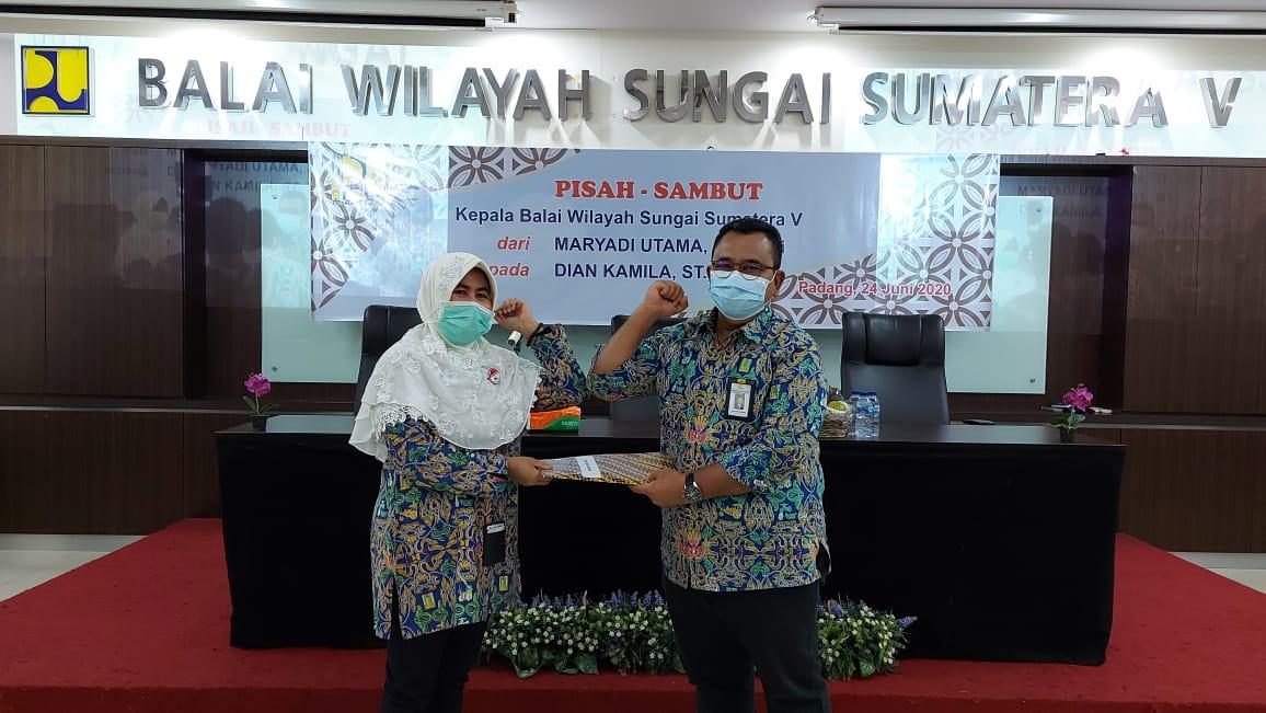 Pisah Sambut Kepala BWS Sumatera V, Melepas Dengan Haru, Menyambut Dengan Semangat Baru