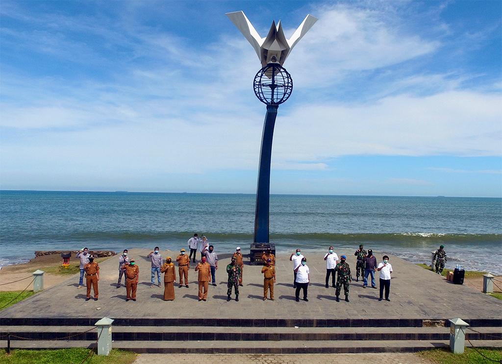 Berikan Yang terbaik! Kepala BWS S V Sosialisasikan Pelaksanaan Kegiatan Pemeliharaan Berkala Pantai Padang