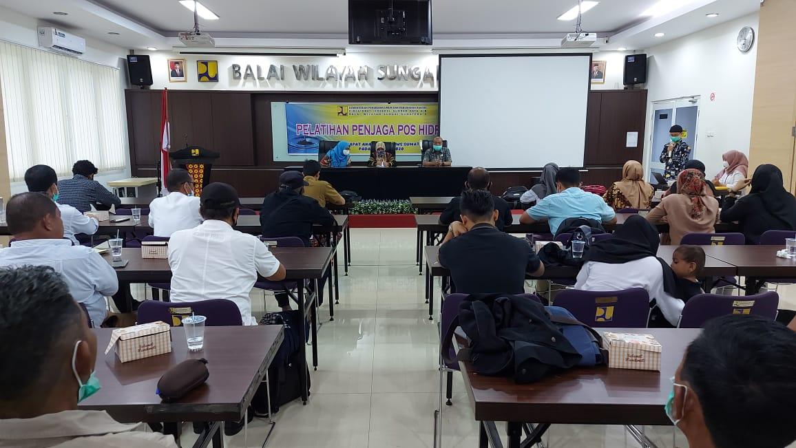 Pelatihan Penjaga Pos Hidrologi Untuk Peningkatan Kinerja Kedepan