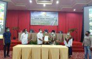 BWS S V Padang lakukan Serah Terima Pekerjaan P3-TGAI Tahap III Tahun Anggaran 2020