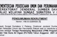 Pengumuman Rekrutment TPM P3-TGAI T.A 2021