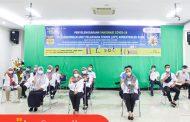 Vaksinasi Dilingkungan Unit Pelaksana Teknis Kementerian Pekerjaan Umum dan Perumahan Rakyat di Provinsi Sumatera Barat Telah Dilakukan