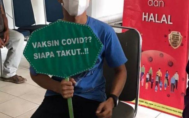 Vaksinasi Covid-19 Dilingkungan PU Pulau Punjung Telah Dilaksanakan