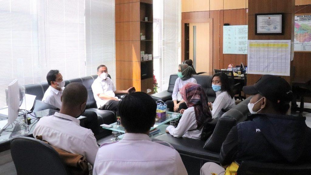 Kunjungan Direktorat Bendungan dan Danau di BWS Sumatera VI