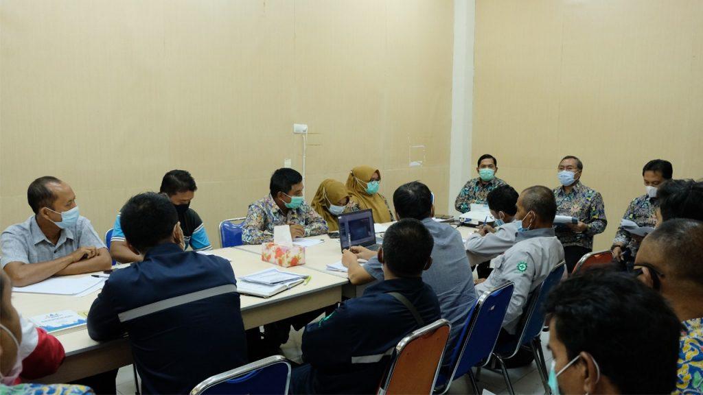 Rapat Progres Triwulan Pertama SNVT PJSA 1