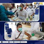 Vaksinasi Covid 19 Tahap I di Lingkungan BWS Sumatera VI 1