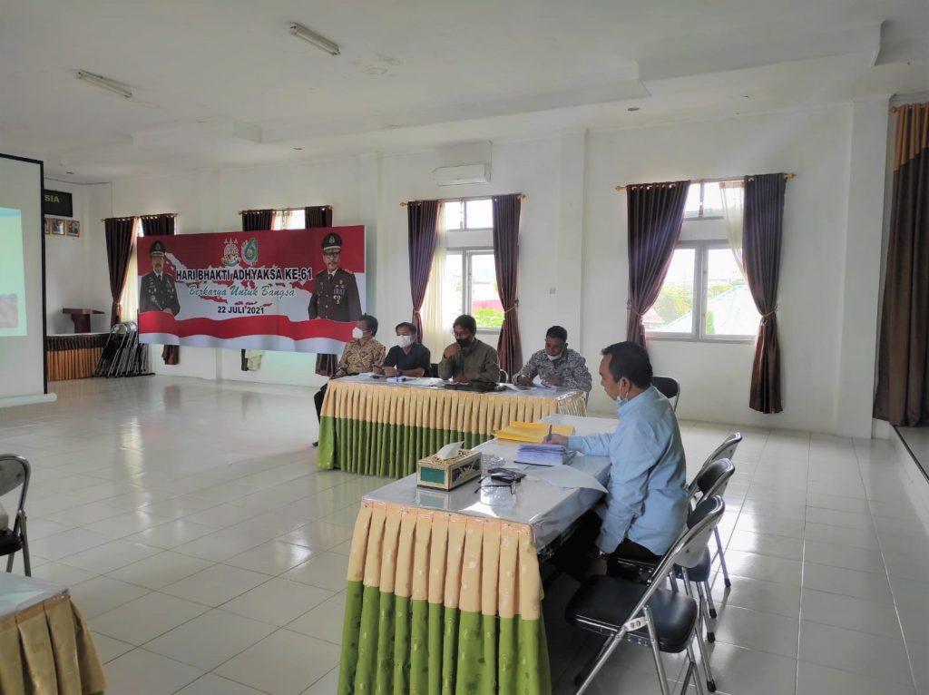Rapat Koordinasi Pekerjaan Rehabilitasi Jaringan Irigasi Sei Tandei 2