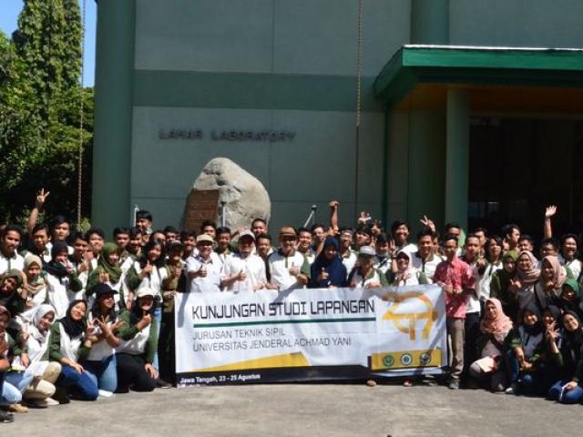 Kunjungan Mahasiswa Universitas Jenderal Achmad Yani, Cimahi-Jawa Barat di Balai Litbang Sabo