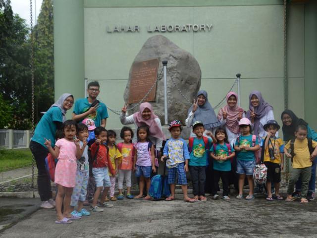 Kunjungan TK Fast Track Funschool  Yogyakarta