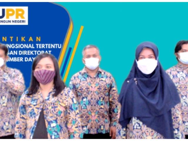 Pelantikan Jabatan Fungsional Tertentu Balai Teknik Sabo