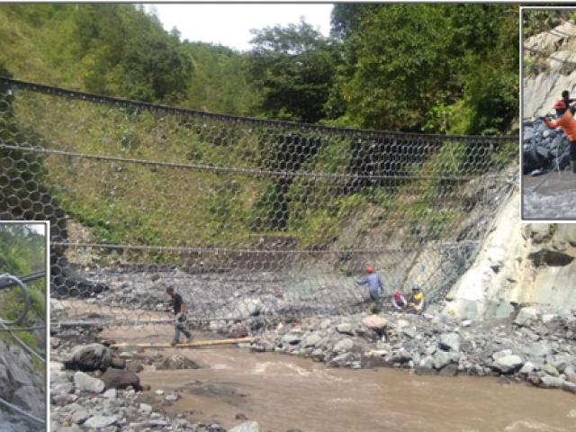 Penerapan Teknologi Ring Net Barriers untuk Pengendalian Aliran Debris