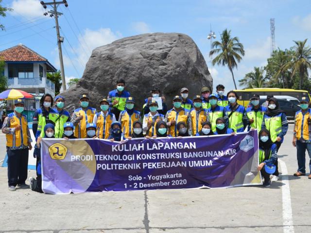 Kunjungan Lapangan Mahasiswa Politeknik Pekerjaan Umum