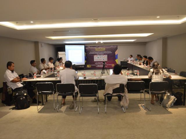 Forum Group Discussion Pedoman OP Ringnet Barrier dan Drainase Bawah Permukaan